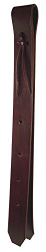 Hamilton Leather Off Billet, 1-1/2-Inch by 39-Inch, Brown