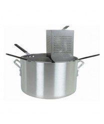 Tiger Chef ALSKPC005 5 Piece Aluminum Pasta Cooker by Thunder Group