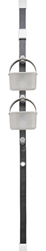 Madesmart 95-79800-06 Hanging Door Caddy System, Gray by Made Smart