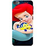 Ipod Touch 6th Generation Cover,Ariel Princess The Little Mermaid Phone Case Anime&Comic Style Fashion Cute American Movie Back Case Cover (Ariel Anime Stylish)