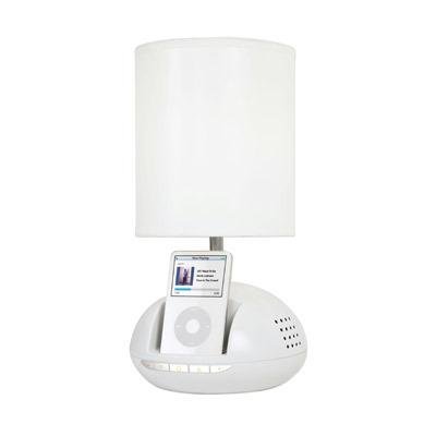 iHome iHL64 Speaker System and Lamp for iPod (White)