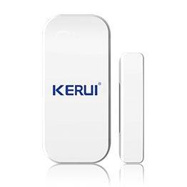 KERUI G18 Sistema de seguridad GSM, sistema de alarma inalámbrico magnético, ventana, sensor + detector de movimiento, aplicación Android/IOS, ...