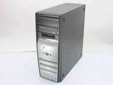 COMPAQ D5PM/1.7/20J/6/256C Evo D510 Tower Computer 1.7 Ghz P4 256/20