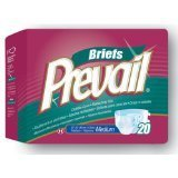 First Quality Products Prevail Brief Adult Small - Case of 96 - Model pv-011 by Prevail by Prevail