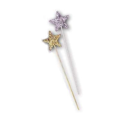 Sequin Wand - Forum Novelties Glitter Star Silver