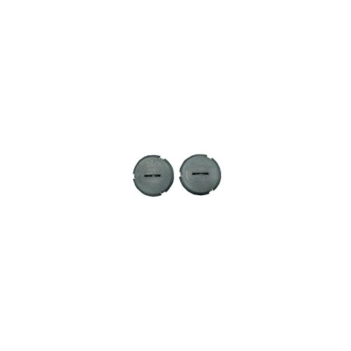 Eckler's Premier Quality Products 25-249884 - Corvette Headlight Motor Adjustment Hole Plugs