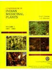 img - for A Compendium of Indian Medicinal Plants: v. 1 (Vol 1) book / textbook / text book