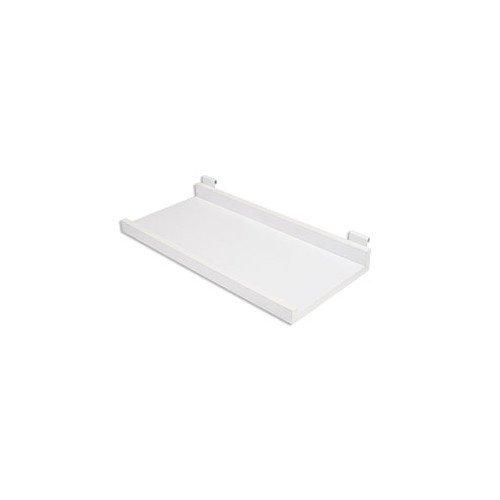 New Retail White Melamine Shelf Kit for Wire Grid 11/Â/½/â/€d X 24/â/€l