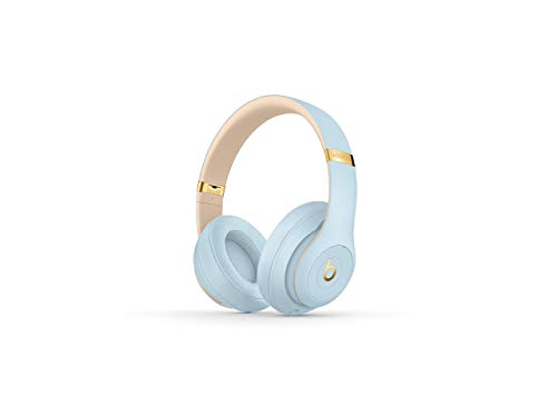 Beats Studio3 Wireless Headphones - The Beats Skyline Collection - Crystal Blue (Certified Refurbished)