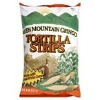 - Green Mountain Gringo Organic White Corn Tortilla Strip, 8 Ounce -- 12 per case.