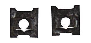 C8031-832-4#8-32 Black''J'' Steel Spring Nut, Pack of 10