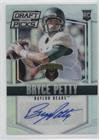 Bryce Petty (Football Card) 2015 Panini Prizm Collegiate Draft Picks - [Base] - Prizms Autographs [Autographed] #107