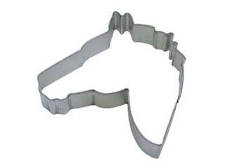 Horse Head Tinplated Steel 4.5-Inch R/&M Cookie Cutter