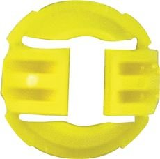 Nm Bushing (TOPAZ ELECTRIC 457 623519 Series Plastic Hit Lock Romex (N.M.) Connector, 1/2