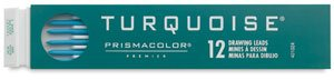 Prismacolor - Turquoise 2mm Drawing Lead Type 6B, .078