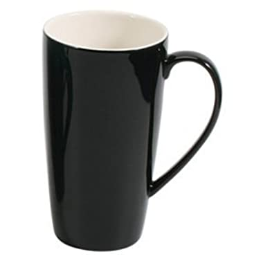 BIA Cordon Bleu 17 oz Latté Mug - Black - Set of 4