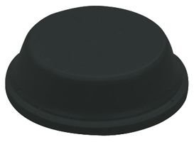 3M Bumpon SJ5744 Black Bumper/Spacer Pad - Cylindrical Shaped Bumper - 0.75 in Width x 0.161 in Height - 67328 [PRICE is per PAD]