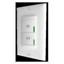 1- Lithonia Lighting SPODM-SA-WH Sensor Switch Wall Mount Occupancy Sensor Interface Switch 12 - 24 Volt AC/DC, Manual ON, White