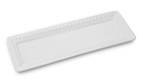 KOVOT Ceramic Rectangular Platter Set   3 Piece Porcelain Platter Set Includes (1) Large, (1) Medium, (1) Small by Kovot (Image #3)