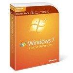 Microsoft Windows 7 Home Premium Upgrade Family Pack (3-User) [Old Version]