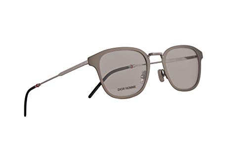 Christian Dior Homme Dior0232 Eyeglasses 50-21-150 Matte Ruthenium w/Demo Clear Lens R81 0232