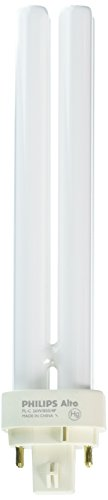 Philips Alto PL-C Energy Saver Compact Fluorescent Light Bulb: 1800-Lumen, 3500-Kelvin, 26-Watt, 4-Pin G24-3 Base, Daylight