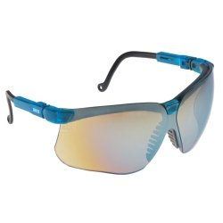 Genesis Vapor Blue Frame Glasses with Gold Mirror Lens with UD Coating Tools Equipment Hand Tools