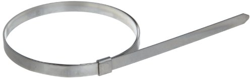 BAND-IT JS2469 Junior 3/8'' Wide x 0.025'' Thick, 3'' Diameter, 201 Stainless Steel Smooth I.D. Clamp (100 Per Box) by Band-It