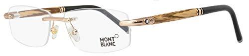 Montblanc Eyeglasses MB491 028 Size:58 Shiny Rose