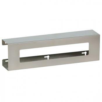 Double Slimline Stainless Steel Glove Box Holder - CL-GS-3022