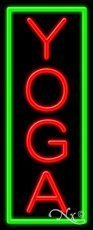 (Yoga Business Neon Sign - 32 x 13 x 3 inches - Made in USA)