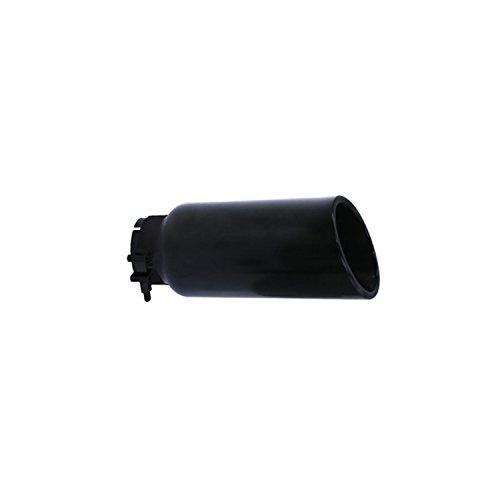 Black Stainless Steel Universal Exhaust Tip - Go Rhino GRT234410B