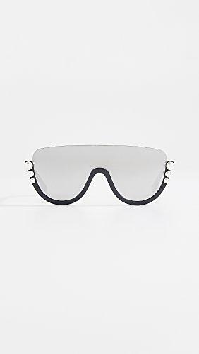 0c84482791 Fendi RIBBONS AND PEARLS FF 0296 S BLACK DARK GREY women Sunglasses ...