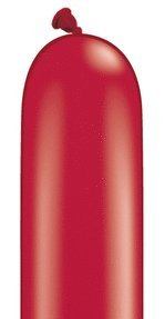 Qualatex 646Q Large Twisting Balloons, Ruby Red - Pack of 50 by Qualatex