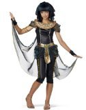 California Costumes Dark Egyptian Princess Tween Costume, X-Large