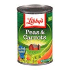Libbys Peas & Carrots 15 OZ (Pack of 24)