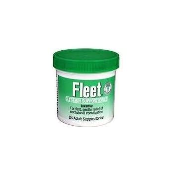 Amazon Com Fleet Adult Glycerin Suppositories 24 Count