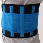 Generic Posture Support Lower Back Brace Provides Back Pain Relief Breathable Lumbar Support Keeps Your Spine Straight and Safe Belt blueee XXL