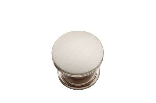Hickory Hardware P2142-SS 1-3/8-Inch American Diner Cabinet Knob, Stainless Steel by Hickory Hardware