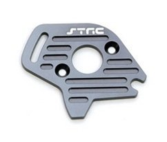 ST Racing Concepts ST6890GM Aluminum Heatsink Finned Motor Plate for Slash 4 x 4 (Gun Metal)