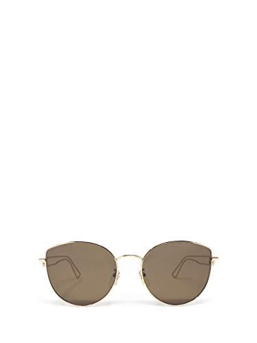 Luxury Fashion   Balenciaga Woman BB0059SK002 Gold Metal Sunglasses   Season Permanent