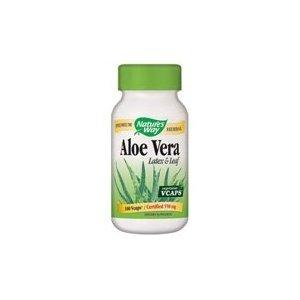 Nature's Way Aloe Latex & Leaf 550mg Vcaps