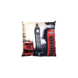 coussin de londres ou avec le drapeau anglais deco londres. Black Bedroom Furniture Sets. Home Design Ideas