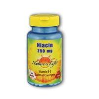 Nature comprimés de niacine vie, 250 mg, 250 Count
