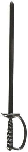 Espada Barproducts palillos de cóctel (Bolsa de 250), negro