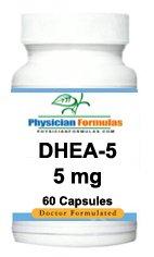 4 bouteilles de suppléments de DHEA déhydroépiandrostérone pour hommes et femmes de 5 mg, 60 capsules, augmente la libido - Approuvé par le Dr Ray sahélienne, MD
