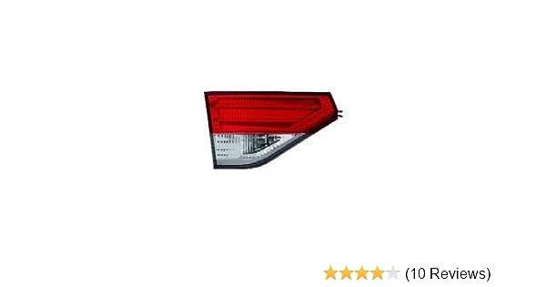 HO2803107 Fits 2014-2017 Honda Odyssey Passenger Side Inner Tail Light CAPA