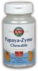 Kal 45 Mg Papaya Zyme, 100 Count