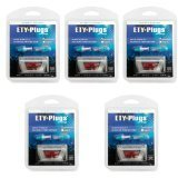 5-pack Etymotic ER-20 ETY-Plugs (Standard Fit Blue)