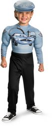 Finn McMissile Muscle Classic Costume - Small - Kids Classic Muscle Finn Mcmissile Costumes